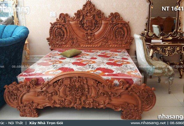 Giường ngủ cổ điển cao cấp NT16415