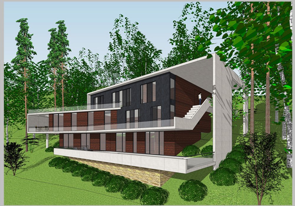 Mẫu dự án nhà ở 102