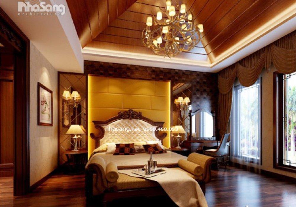 Thiết kế nội thất chung cư tân cổ điển - Nội thất đồ gỗ cao cấp NT16606