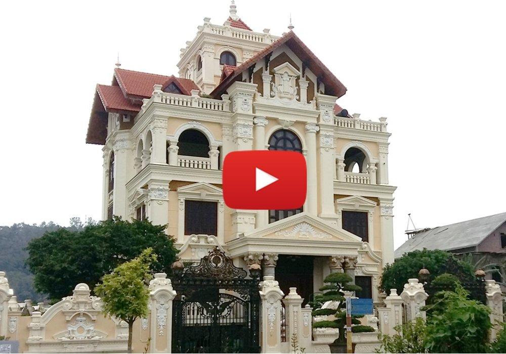 Ảnh thi công biệt thự kiểu Pháp cổ tại Kiến An - Hải Phòng BT19112