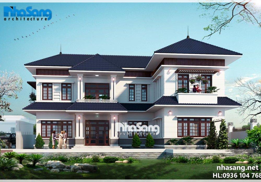 Biệt thự nhà vườn tổng hợp - Kiến Trúc Nhà Sang