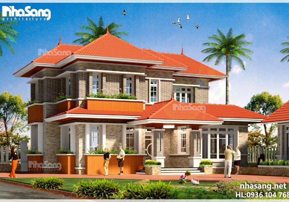 Sở hữu biệt thự nhà vườn 2 tầng đẹp BT14193 chỉ với 950 triệu