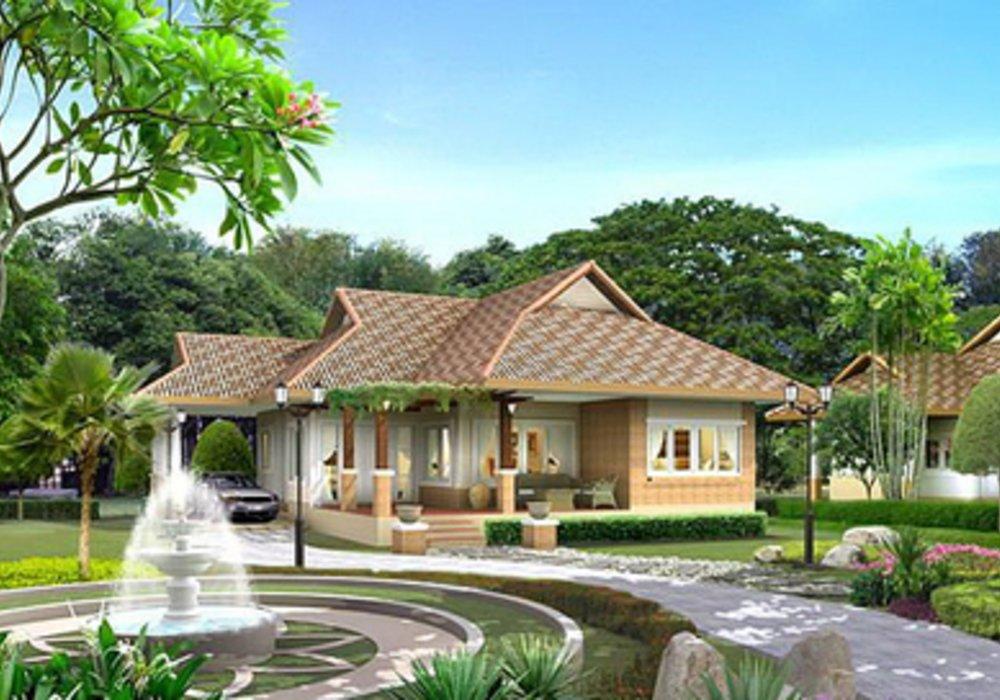 Mẫu nhà vườn đẹp BT1047