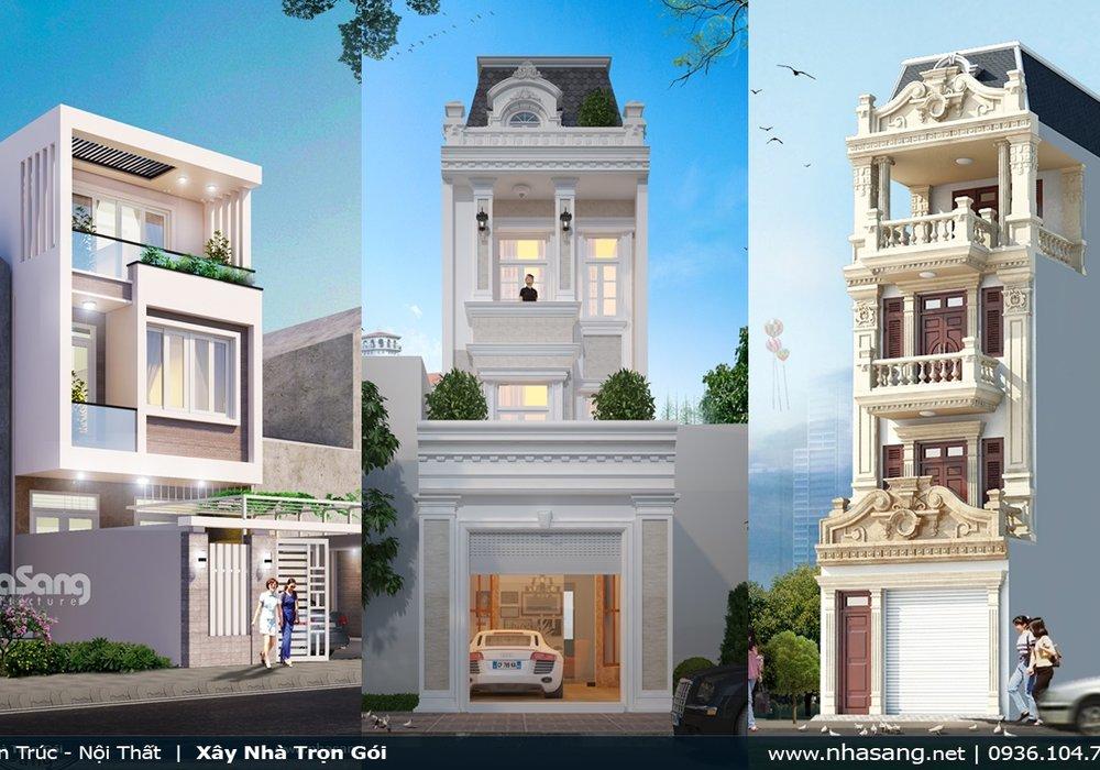 22 kiểu dáng nhà phố đẹp xuyên thời gian Chon lọc từ hơn 1000 mẫu