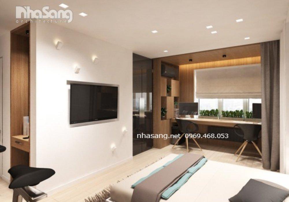 Thiết kế căn hộ khách sạn 30m2 NT16603