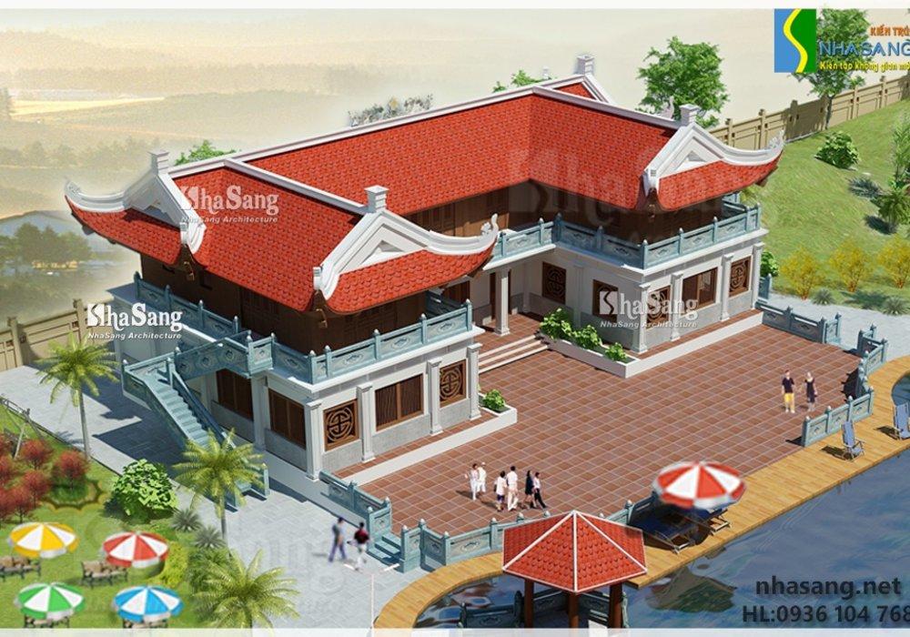 Thiết kế nhà ở cho người hoạt động trong lĩnh vực Phật giáo BT14139