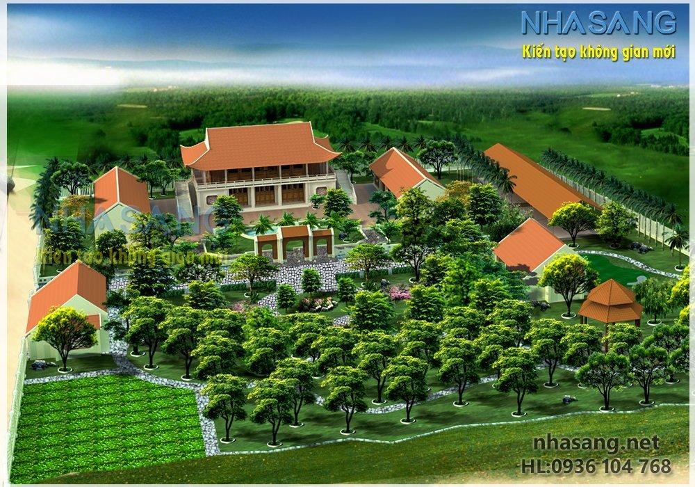 Thiết kế nhà vườn NV14002