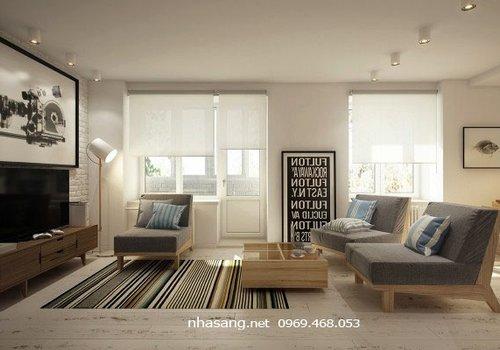 16602 Thiết kế căn hộ chung cư mini 40m2