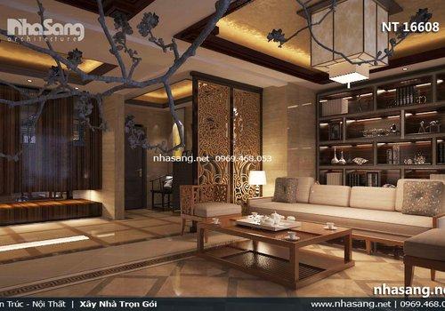 Thiết kế nội thất chung cư cao cấp phong cách Nhật Bản NT16608