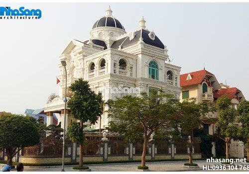 Biệt thự đẹp BT14168 kiến trúc Pháp
