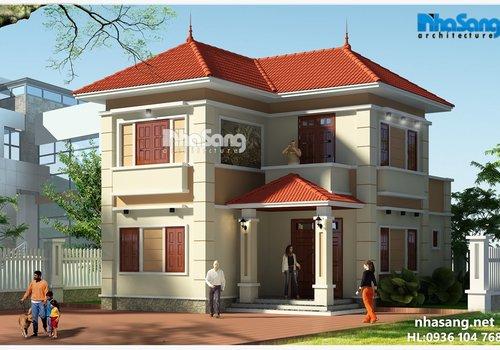 Biệt thự nhà vườn mini 2 tầng vẻ đẹp thanh bình giữa lòng Hà Nội BT16009