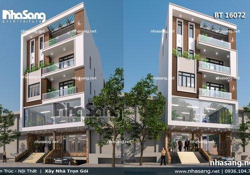 Biệt thự phố hiện đại mặt tiền 9m BT16072