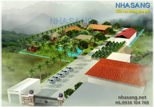 Khu nghỉ dưỡng sinh thái NV14103