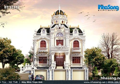 Biệt thự lâu đài hoành tráng tại Thanh Hóa BT17332