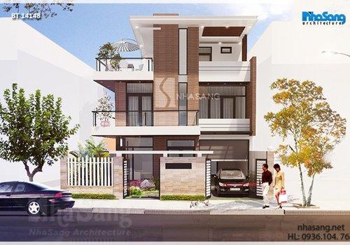 11 Thiết kế biệt thự hiện đại | 2-5 tầng Mặt tiền 6-18m