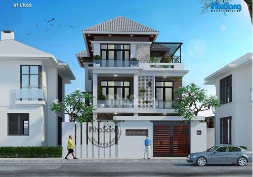 11 Thiết kế biệt thự phố hiện đại | Thực tế đã thi công | 2-5 tầng Mặt tiền 6-18m