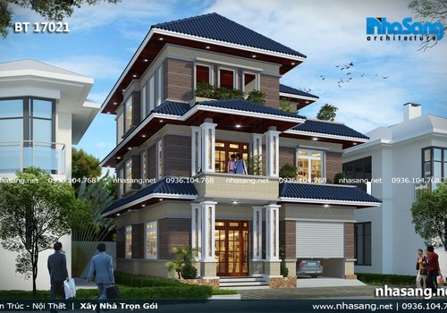 22+ Mẫu Nhà Biệt Thự 3 Tầng Hiện Đại Đẹp Nhất 2019 | 1500+ Mẫu Nhà Đẹp Độc