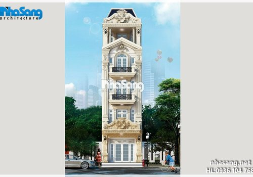 Nhà phố đẹp 5 tầng 112m2 BT14195 nâng tầm cuộc sống hiện đại