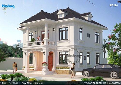 Nhà vườn 2 tầng nông thôn | 90m2 4 phòng ngủ