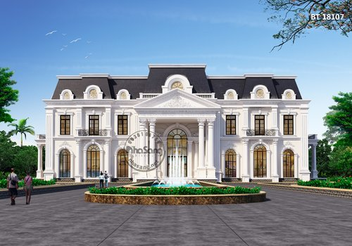 Dinh thự Châu Âu 2000m2 tại Hà Nội BT18107