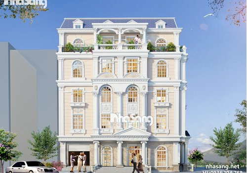 Thiết kế khách sạn BT15031