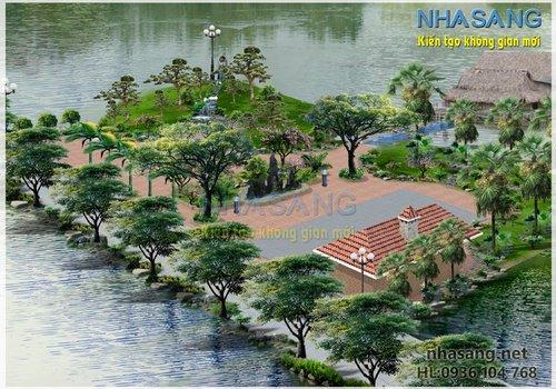 Thiết kế sân vườn NV14100
