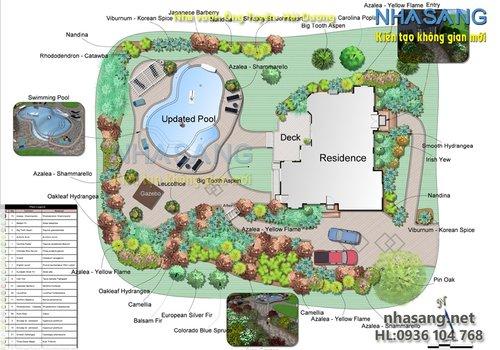 Thiết kế sân vườn SV14033