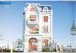 Mẫu biệt thự Pháp đẹp khu đô thị Việt Hưng Long Biên