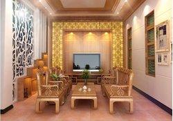 Nội thất gỗ phòng khách tân cổ điển