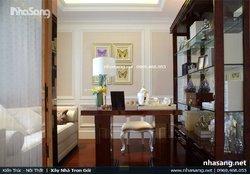 Thiết kế nội thất chung cư cao cấp 116m2 phong cách Tân cổ điển Châu Âu NT16605