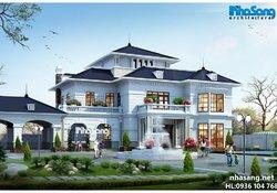 biệt thự đẹp, nhà vườn đẹp, thiết kế dinh thự bt14165