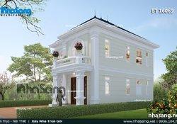 Nhà vườn Châu Âu 2 tầng đơn giản tinh tế BT16069