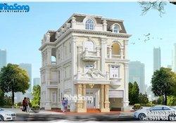 99 Biệt thự tân cổ điển Pháp   BST Biệt thự được yêu thích nhất