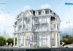 Siêu dinh thự kiểu Pháp thông tầng 500m2/sàn bậc nhất Quảng Ngãi BT145