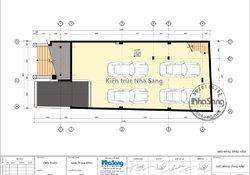 Thiết kế nhà ở kết hợp văn phòng 5 tầng tân cổ điển BT19111