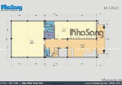 Thiết kế ngoại thất quán karaoke tại Thường Tín BT17027
