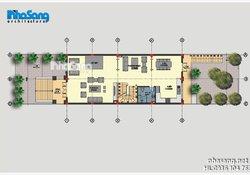 Biệt thự Pháp tân cổ điển 4 tầng BT16030