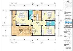 Biệt thự vườn mái thái hiện đại 2 tầng 8.5m mặt tiền BT131