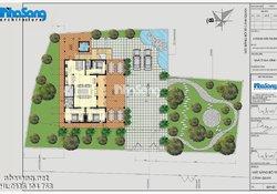 Thiết kế nhà vườn phong cách cổ xưa thoáng mát BT15007