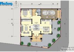 Biệt thự đẹp 3,5 tầng 10m x 14m kiến trúc Lâu đài BT14175