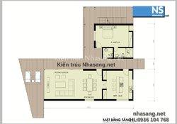Mẫu thiết kế biệt thự 2 tầng đẹp sang trọng theo phong cách hiện đại BT502 - kiến trúc nhà phố kiểu pháp