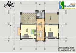 Mẫu thiết kế nhà biệt thự pháp đẹp 3 tầng - kiến trúc nhà phố