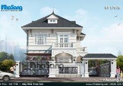 Thiết kế nhà 1.2 tỷ theo phong thủy đôi độc đáo BT17038