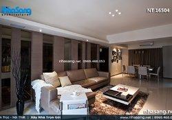 Mẫu phòng khách đẹp cho nhà chung cư NT16504