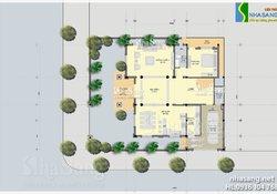 Thiết kế Lâu đài - Biệt thự 3,5 tầng Kiến trúc  kiểu Pháp BT14142- Mẫu Nhà Đẹp
