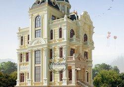 Thiết kế lâu đài ấn tượng nổi bật tại Diễn Châu BT113