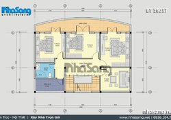 Thiết kế nhà ở kết hợp kinh doanh đồ gỗ gia truyền BT16037