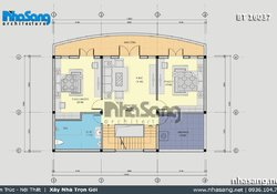 Biệt thự kiểu Pháp đẹp 3 tầng mặt tiền 13m BT15037