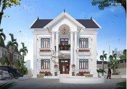 10+ Mẫu biệt thự 2 tầng đẹp nhất