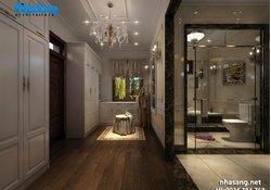 Nội thất gỗ óc chó 4 tỷ cho dinh thự 1500m2 NT15019